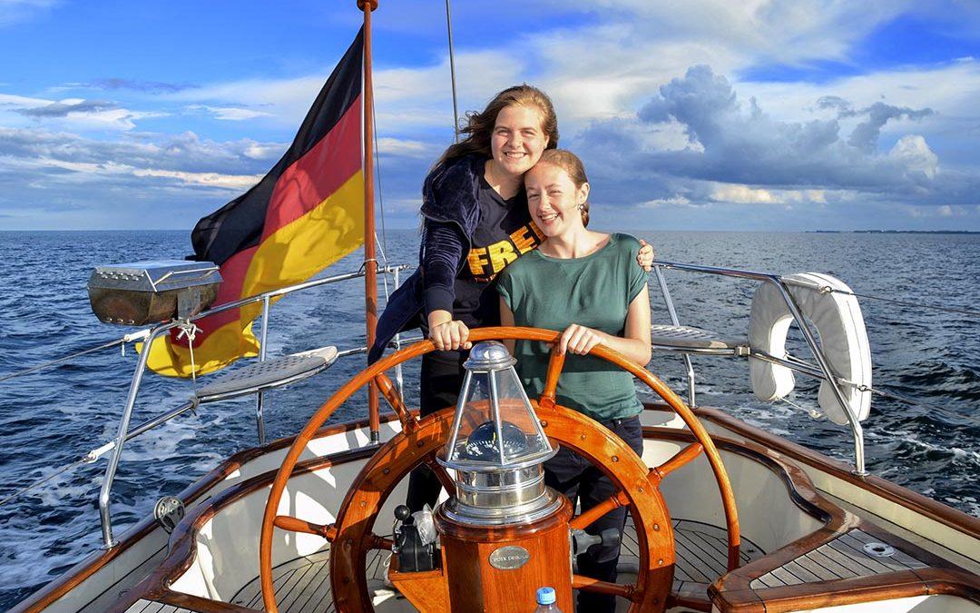 Sprachcamp Allgäu Segelcamp Ostsee – Tag 4 auf dem Schiff