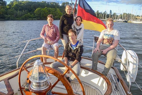 Englisch Segelcamp Ostsee – Tag 4