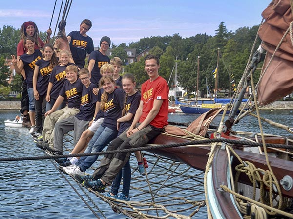 Sailing camp update – good evening from Soby!