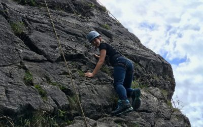 Englisch lernen: Rock climbing
