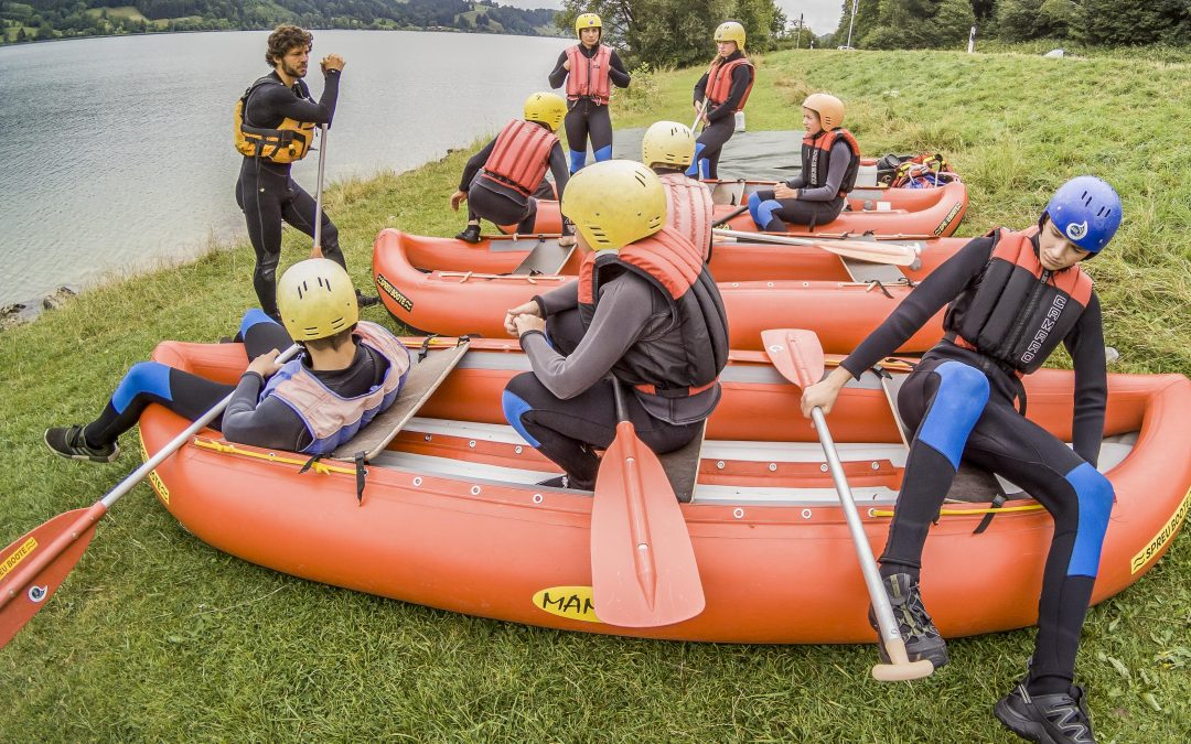 Rivers and Lakes Camp – Splashdown!