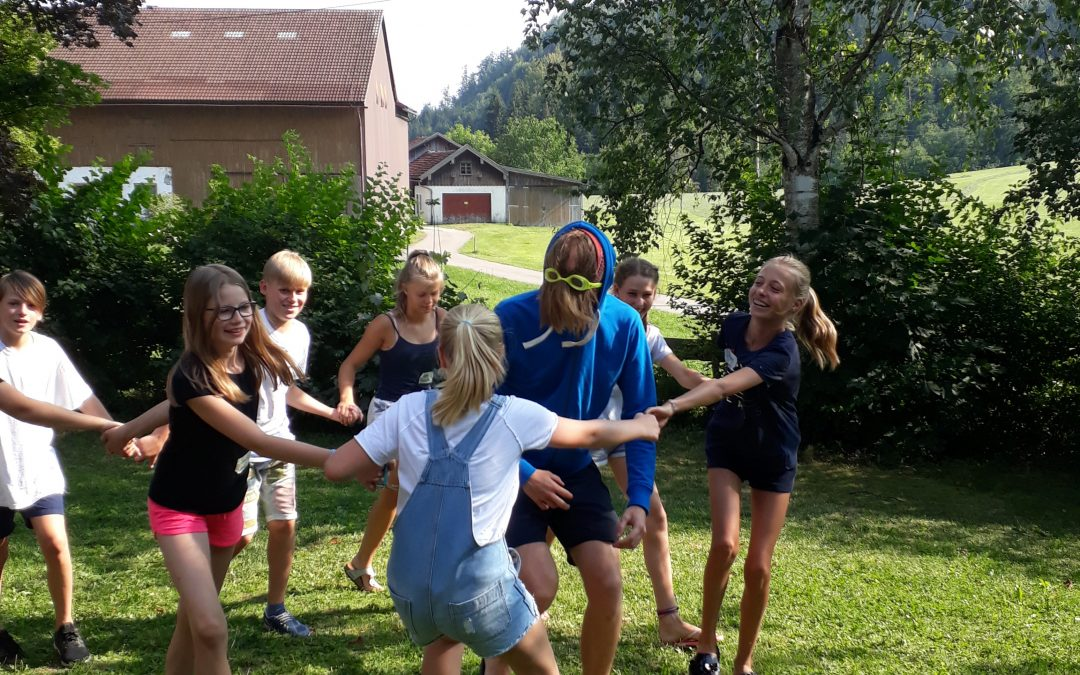 Englisches Camp – fun in the sun