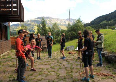 Englischcamp Klettern
