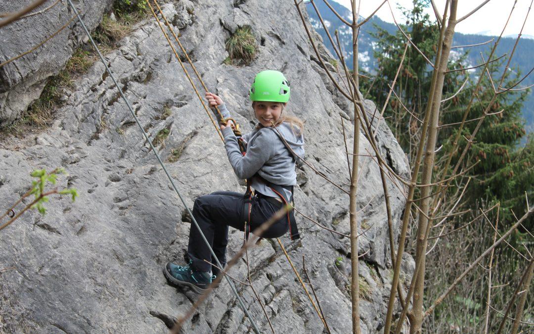 Day 3 Eastercamp, Klettern in Bad Hinderlang